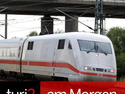 turi2 am Morgen: Deutsche Bahn, Gutjahr und Turi, Georg Kofler.