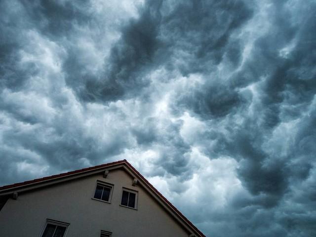 Gewittergefahr am Wochenende in Katastrophengebieten