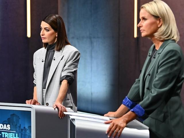 """In TV-Show - Linda Zervakis zückt """"Micky Maus""""-Heft im Triell, Experte fand Coup voll daneben"""