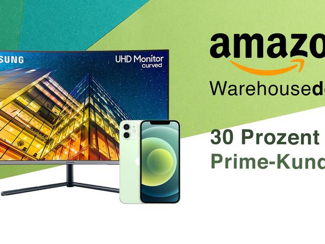 Amazon Warehouse: Extra-Rabatt für Prime-Kunden