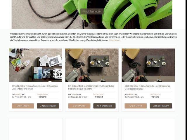 Vinyl in Steinoptik online kaufen - Daedelow Parkett