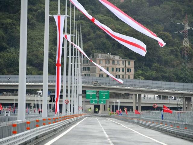 Neue Brücke in Genua: Einweihung zwei Jahre nach Einsturz-Katastrophe