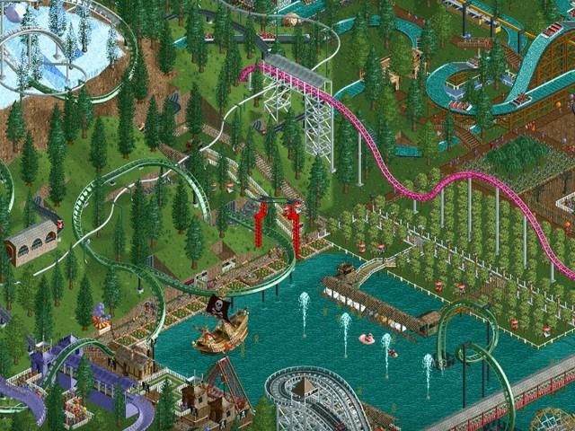 RollerCoaster Tycoon Classic (Teile 1 & 2) für PC und Mac erhältlich