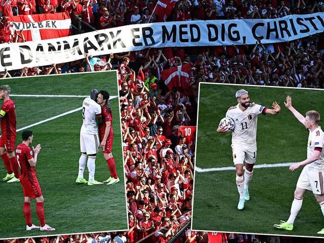 De Bruyne entscheidet Spiel eins nach Eriksen-Kollaps: Dänemark verliert gegen Belgien