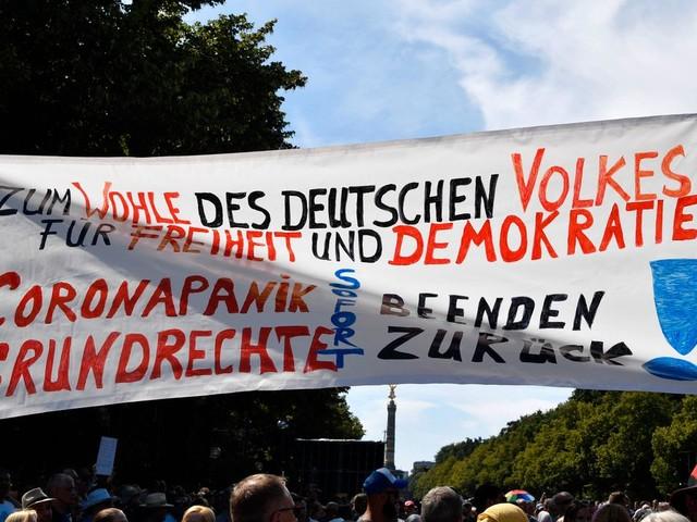 Coronavirus: Deutsche haben wenig Verständnis für Corona-Proteste