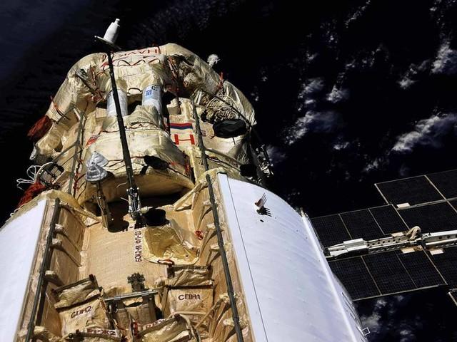 """""""Nauka"""" angedockt: Kosmonauten betreten neues ISS-Labor"""