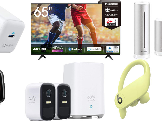 Amazon Blitzangebote: Rabatt auf Gardena Smart System, Netatmo, Philips Hue, USB-C Ladegeräte, 5TB ext. Festplatte, Apple Watch Armbänder und mehr