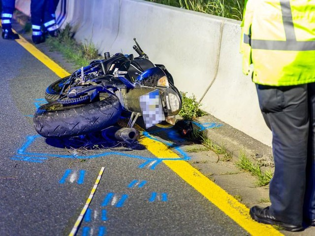 Lange Suche nach tödlich verunglücktem Motorradfahrer auf A66