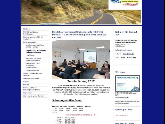 Verkehr & Logistik Service - Gabelstapler Ausbildung - Sach Fachkunde Vorbereitung - Gefahrgut - Kraftfahrer Module 1 -5 - Module 1-5 / Gefahrgut / Ladungssicherung