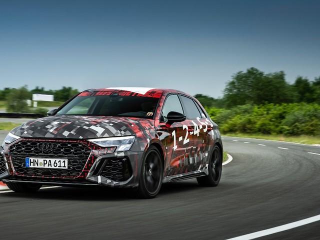 Am Rand der Ohnmacht: Audi RS3 - Mitfahrt im Über-Kompakten