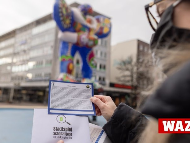 Freizeit: Spielerisch durch Duisburg schnitzeln