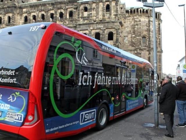 """""""Stolz der Flotte"""" kostete 560.000 Euro - Heizung an, Beschleunigung aus: Trierer Elektrobus macht im Winter schlapp"""