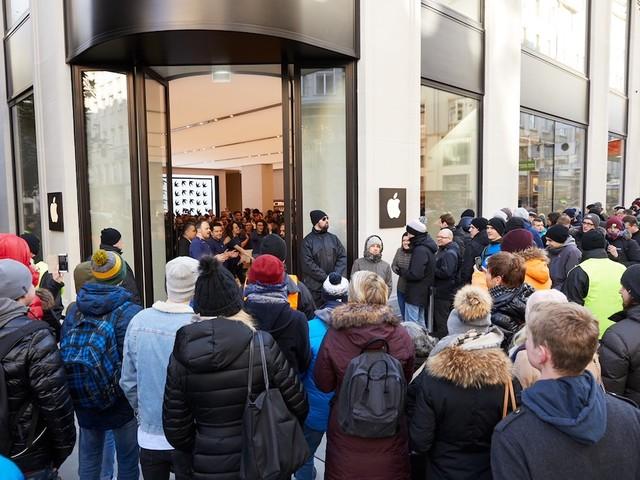 Apple Kärntner Straße in Wien eröffnet [Fotos]