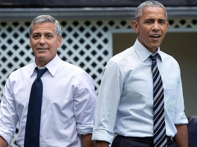 Italien wappnet sich: Die Obamas besuchen die Clooneys