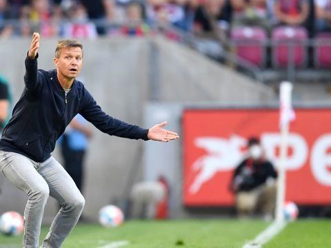 RB Leipzig - Unentschieden als Mutmacher: Coach Marsch kann wieder lachen