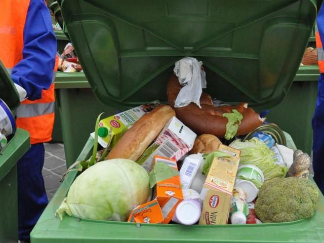 Lebensmittel im Müll - der größten Verursacher von Treibhausgas