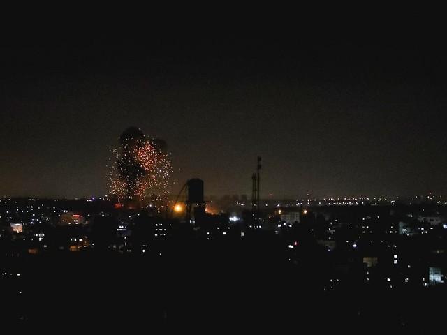 Nach Attacken mit Brandballons: Israel fliegt neue Luftangriffe