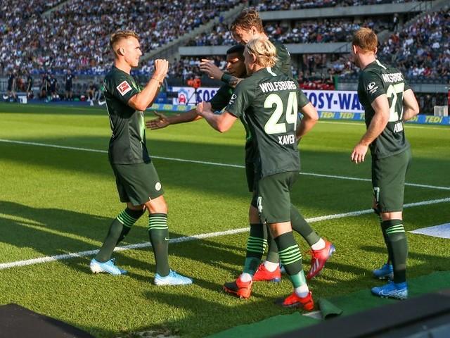 Fußball-Bundesliga: Drei Tore für drei Punkte - Wolfsburg gewinnt in Berlin