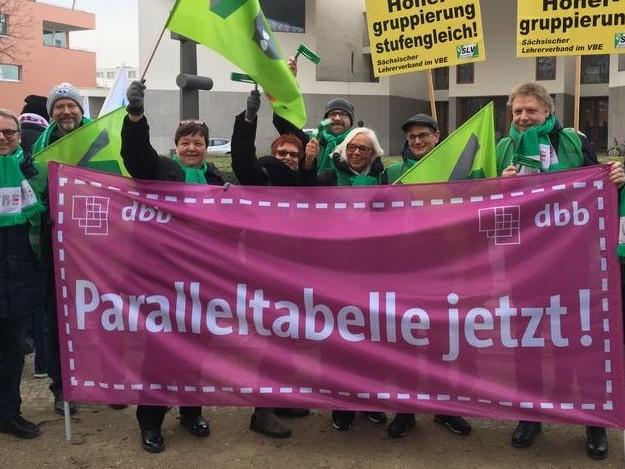 """""""Wann, wenn nicht jetzt"""": Gewerkschaften machen in der ersten Tarifrunde Druck – Länder signalisieren Entgegenkommen"""