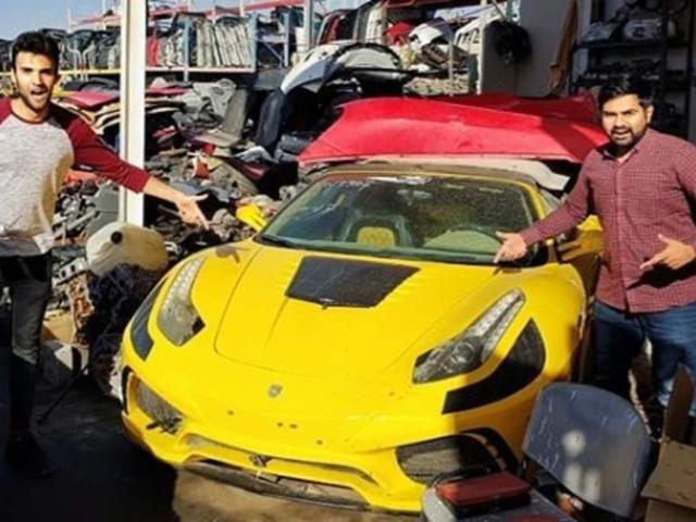 Friedhof der Supersportwagen: Hier verrotten Ferraris und Lamborghinis