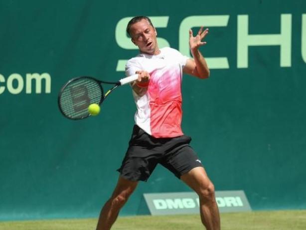 Tennis: Kohlschreiber-Aus - Kein Deutscher im Halbfinale von Halle