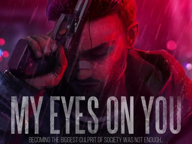 """My Eyes On You - """"Neon-Noir""""-Thriller mit handlungsbeeinflussenden Entscheidungen - Trailer mit Spielszenen"""