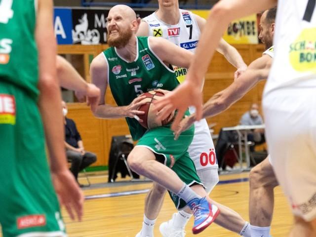 Kapfenberg gewinnt in Gmunden das erste Basketball-Finale