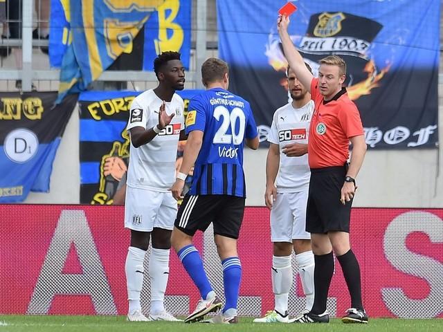 Omar Traoré für zwei Ligaspiele des VfL Osnabrück gesperrt