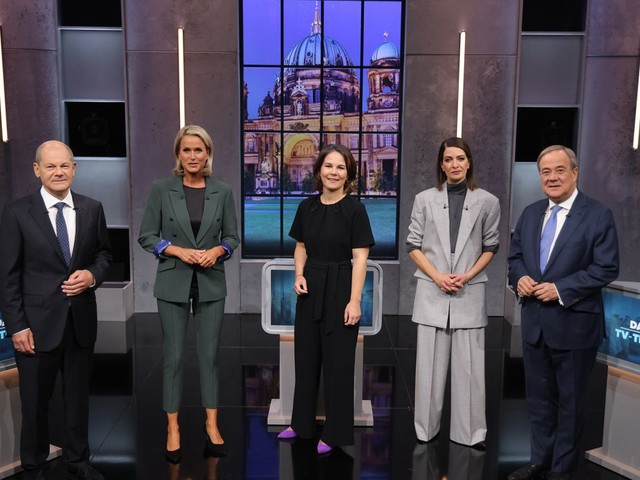 Annalena Baerbock, Armin Laschet und Olaf Scholz: So lief das letzte TV-Triell