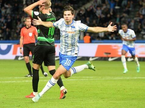 Jurgen Ekkelenkamp strahlt bei Hertha BSC Ruhe und Besonnenheit aus