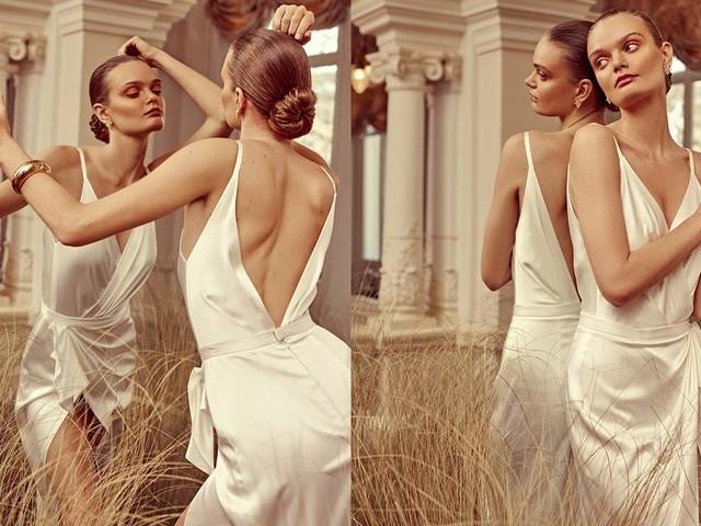 Träumen Sie eine Weile mit diesem speziellen Fotoshooting Couture in Bloom