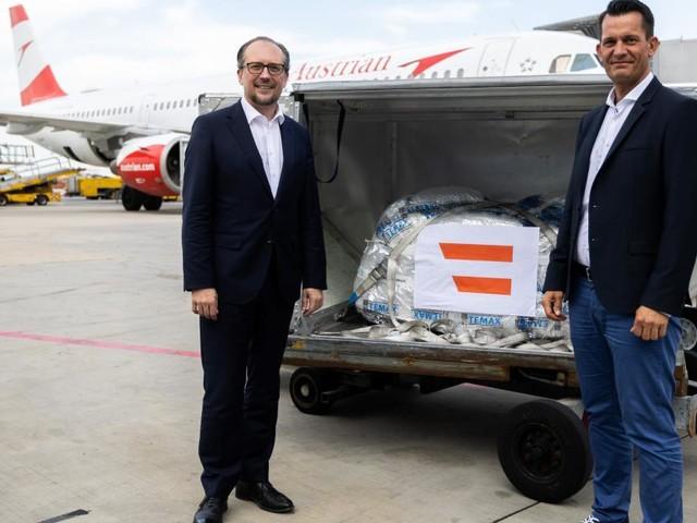 Österreich liefert 50.000 Impfdosen an Tunesien