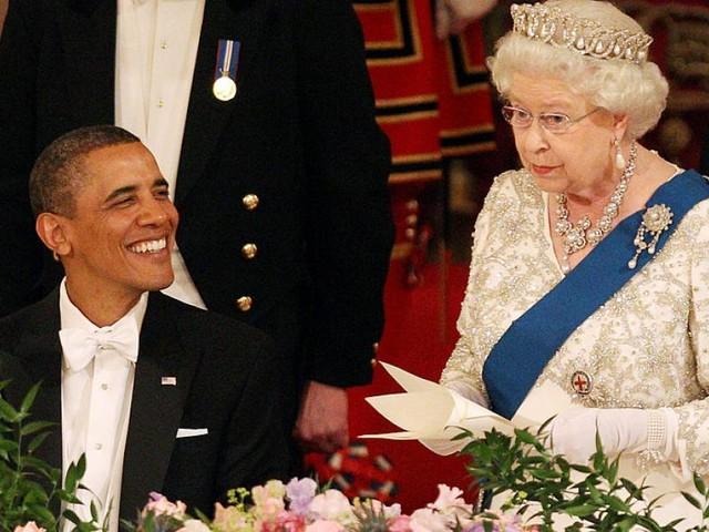 Mit welchem unköniglichen Geschenk Obama Queen Elizabeth überraschte