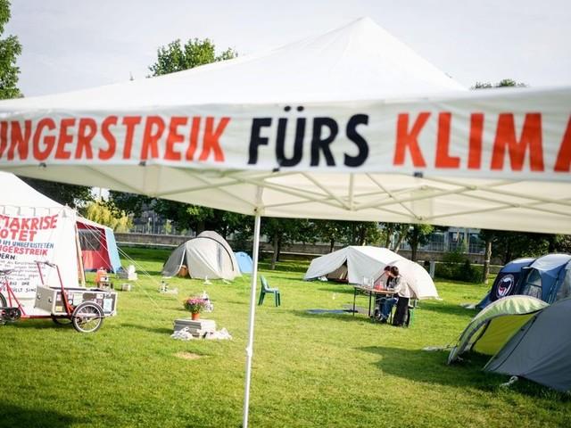 Klima-Hungerstreik: Fast alle Aktivisten geben auf