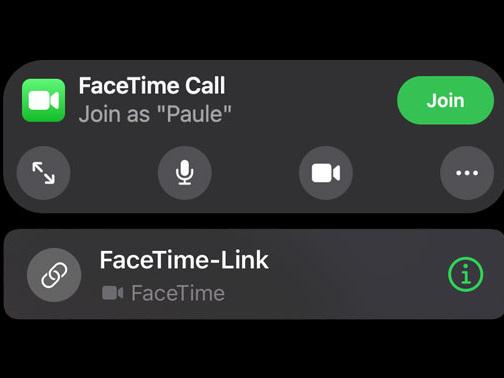 Neu mit iOS 15: FaceTime-Gespräche auch im Browser