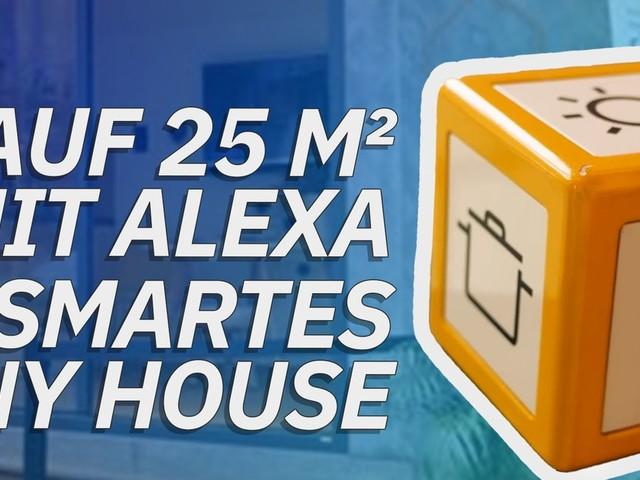 Auf 25 m² mit Alexa: Smartes Tiny House in Deutschland