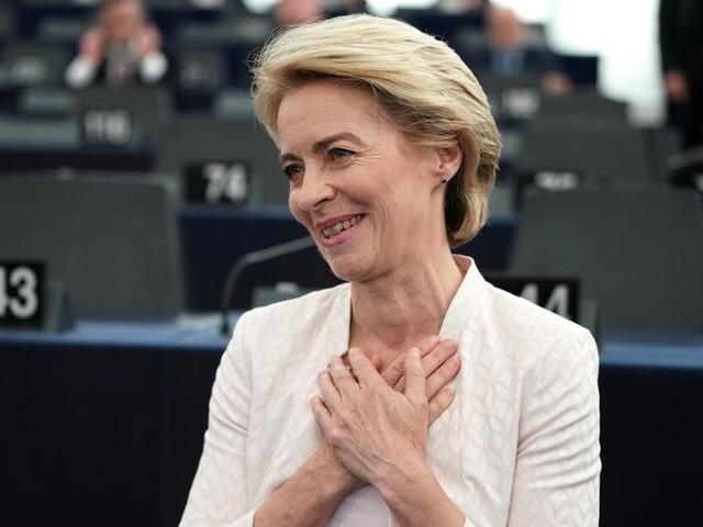 Ursula von der Leyen zur Präsidentin der EU-Kommission gewählt