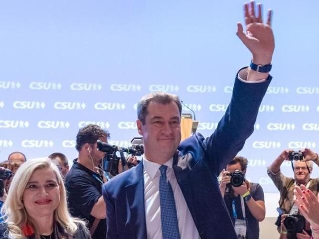Söder mit über 90 Prozent als CSU-Chef wiedergewählt