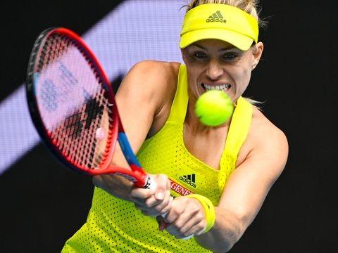 WTA-Turnier: Angelique Kerber in Doha im Achtelfinale
