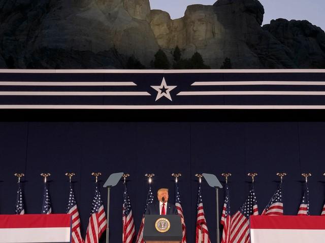 """Trump nennt Proteste in den USA """"Kampagne zur Auslöschung unserer Geschichte"""""""