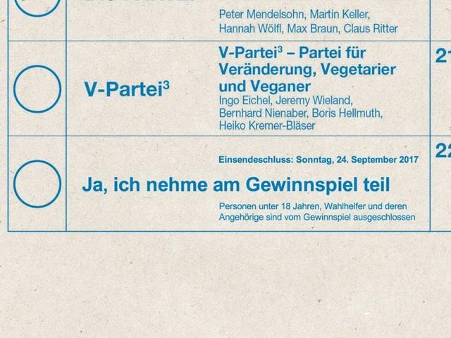 """Neue Partei """"Ja, ich nehme am Gewinnspiel teil"""" schafft es im letzten Moment auf die Stimmzettel"""