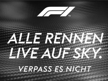 Die Formel 1 auf Sky verfolgen Mit Sky Q die Formel 1 erleben - live, werbefrei und in 4K!
