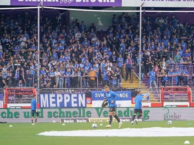 Keine Beschränkung auf Anzahl der SV-Meppen-Tickets in Duisburg