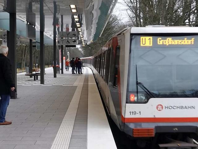 Hamburg: Sperrung der U1 am Wochenende