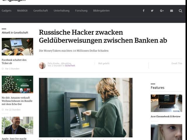 Russische Hacker zwacken Geldüberweisungen zwischen Banken ab