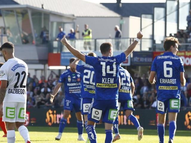 Hartberg überrascht im Steirer-Derby gegen Sturm