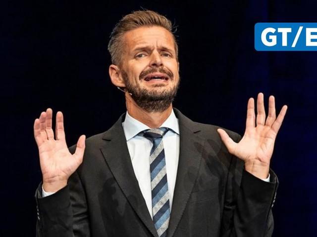 """Florian Schröder stellt seinen """"Neustart"""" im Deutschen Theater Göttingen vor"""