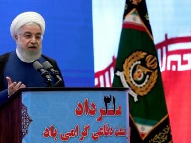 """Irans Präsident fordert USA zu """"erstem Schritt"""" im Atomstreit auf"""