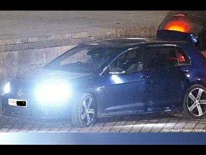 Goldene Toilette gestohlen - Polizei jagt die Täter Gold-Klo-Diebe flüchten im VW Golf R