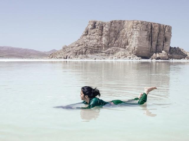 Urmiasee in Iran: Wie einer der größten Salzseen weltweit verschwindet
